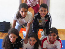 Clowns Without Borders Project in West Bank - 2007