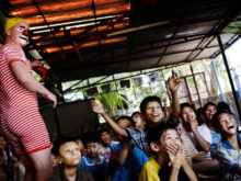 Clowns Without Borders Project in Burma - 2008