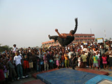 Clowns Without Borders Project in Democratic Republic of the Congo - 2008