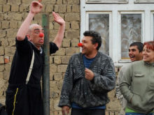 Clowns Without Borders Project in Ukraine -