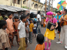 Clowns Without Borders Project in India - 2009