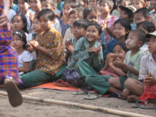 Clowns Without Borders Project in Burma - 2009