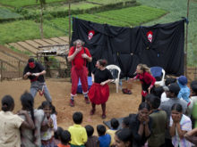 Clowns Without Borders Project in Sri Lanka - 2010