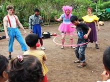 Clowns Without Borders Project in Indonesia -