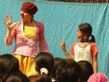 Clowns Without Borders Project in Burma - 2010