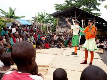 Clowns Without Borders Project in Burundi - 2010
