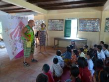 Clowns Without Borders Project in Cambodia - 2010