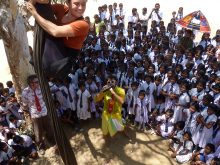 Clowns Without Borders Project in Sri Lanka - 2011
