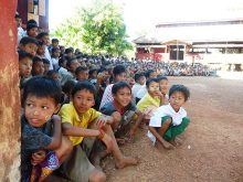 Clowns Without Borders Project in Burma - 2011