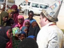 Clowns Without Borders Project in Somalia - 2011