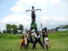 Clowns Without Borders Project in Rwanda - 2011