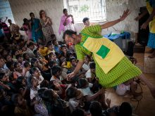 Clowns Without Borders Project in India - 2012