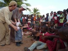 Clowns Without Borders Project in Central African Republic - 2012