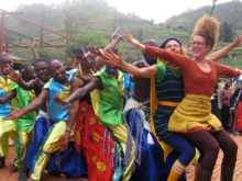 Clowns Without Borders Project in Rwanda - 2012