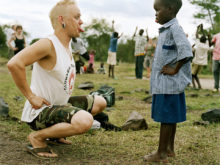 Clowns Without Borders Project in Kenya -