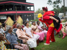 Clowns Without Borders Project in Sri Lanka -