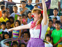 Clowns Without Borders Project in Philippines -