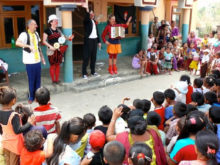 Clowns Without Borders Project in Nepal - 2014