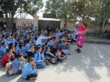Clowns Without Borders Project in Iran - 2014